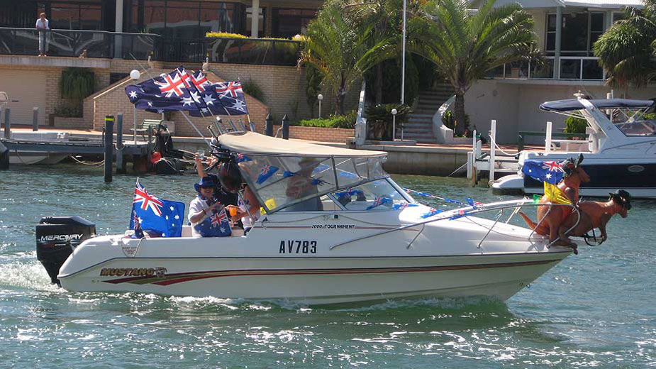 Mandurah Australia Day events include an annual citizenship ceremony and winners of the Premier's Active Citizenship Awards