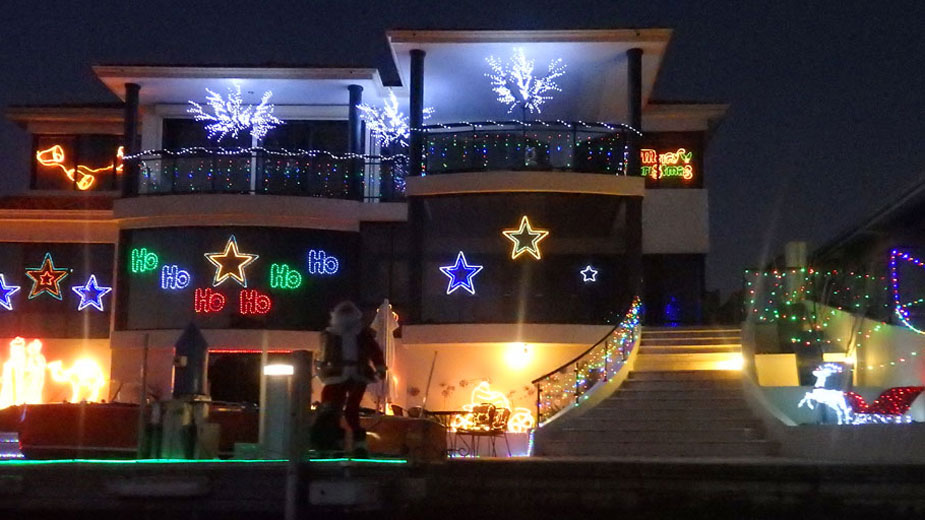 Christmas in Mandurah on the Canals