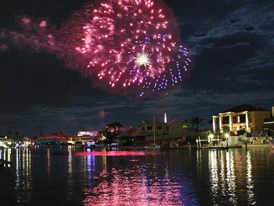 New Years Eve fireworks in Mandurah
