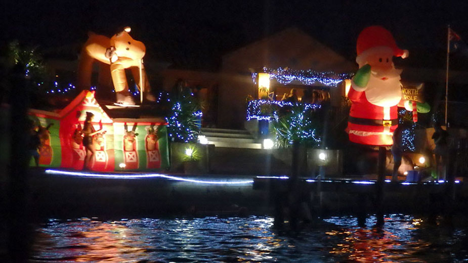 The Christmas spirit is alive in Mandurah